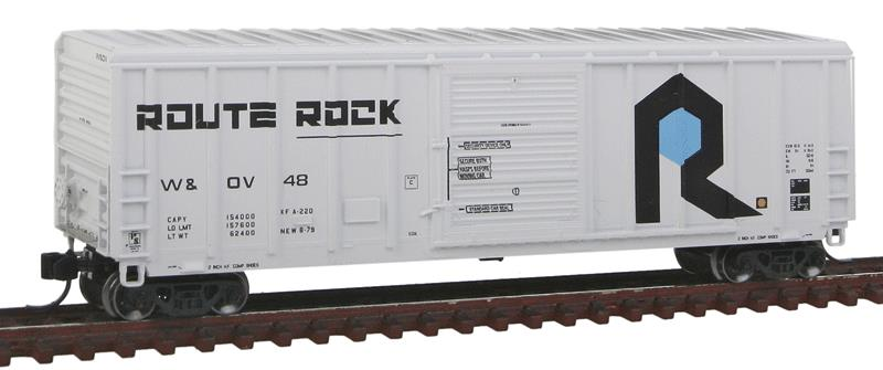 Fox Valley Models 81260 N Rock Isand W&OV P-S 5344 Cu.ft. Single Door Boxcar - Ready to Run #48