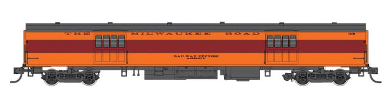 Fox Valley Models 40089 Milwaukee Road 1935-Built Express Car - Ready to Run