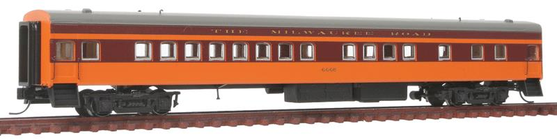 Fox Valley Models 40106 N Scale Milwaukee Road 1935-Built Bunk Coach - RTR