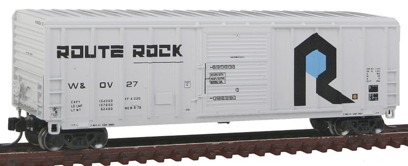 Fox Valley Models 81259 N Rock Island (W&OV) P-S 5344 Single Door Boxcar #27