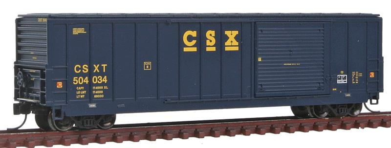 Fox Valley Models 81910 N CSX 50' Canstock Boxcar #504034
