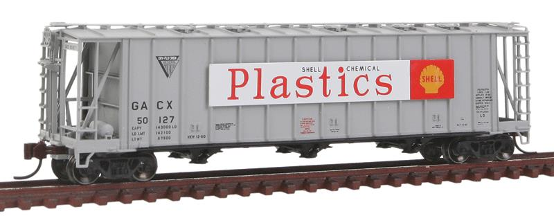 General American 3500 Dry-Flo 3-Bay Covered Hopper - Ready to Run