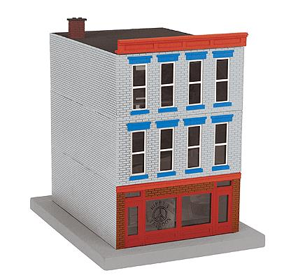 MTH 30-90487 Hippy's Tattoos 3-Story City Building #1