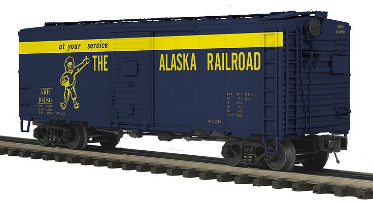 MTH 20-93627 Alaska 40' Boxcar - 3-Rail - Ready to Run - Premier