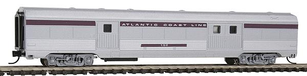 Con-Cor 41332 Budd 72' Streamlined Corrugated Side Baggage Car