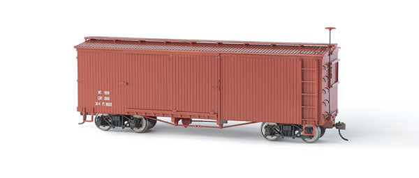Bachmann 27097 On30 Data Only Wood Boxcar (Oxide Red)