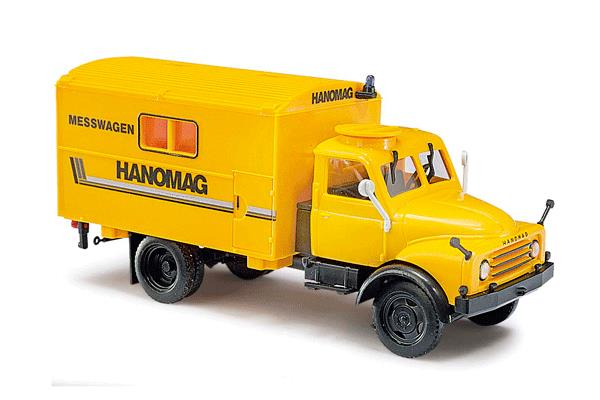 Busch 50802 1958 Hanomag AL 28 MKW Box-Body Personnel Truck - Assembled
