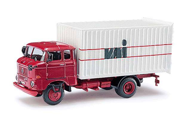 Busch 95125 1987 IFA W50 MK Box-Body Delivery Truck - Assembled - Espewe
