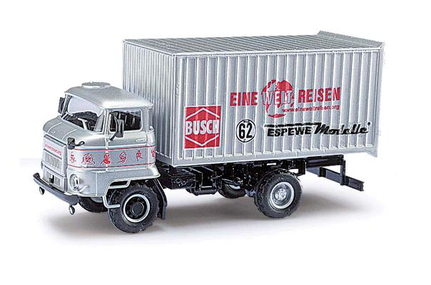 Busch 95505 1987 IFA L60 ETK Box-Body Delivery Truck - Assembled - Espewe
