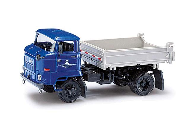 Busch 95516 1987 IFA L60 3SK Low-Sided Dump Truck - Assembled - Espewe