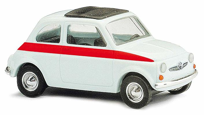Busch 48717 1965 Fiat 500 F Station Wagon w/Sunroof - Assembled