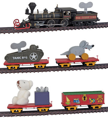 MicroTrains 99321220 Toy Trunk Line Christmas Train-Only Set