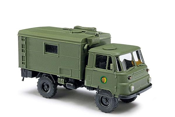 Busch 50221 1973 Robur LO 2002 A Truck w/Box Body - Assembled