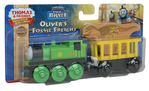 Fisher Price BDG21 Thomas & Friends Wooden Railway Oliver's Fossil Freight