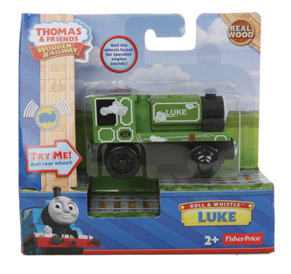 Fisher Price BDG15 Thomas & Friends™ Wooden Railway Roll & Whistle Luke