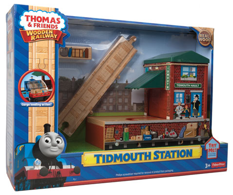 Fisher Price BDG09 Thomas & Friends™ Wooden Railway Tidmouth Station
