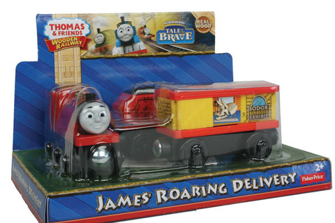 Fisher Price BDG22 Thomas & Friends™ Wooden Railway James' Roaring Delivery