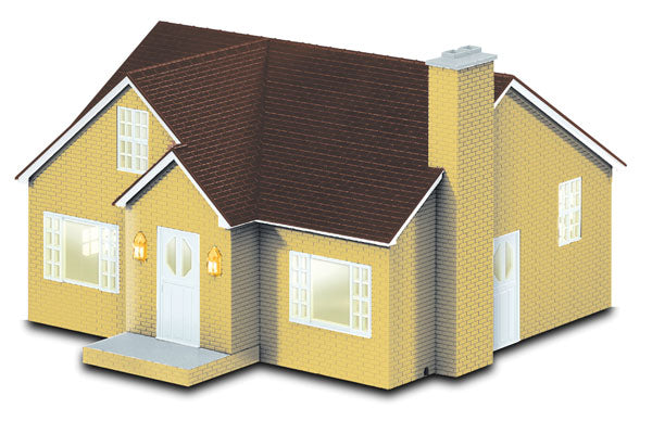 Lionel 6-82008 Bungalow House w/Interior Lights - Plug-N-Play