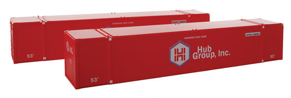 Con-Cor 488030 1:87 HO 53' Sheet/Post Rivet Side Container