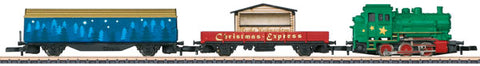 Marklin 81705 Z Scale Christmas Diesel Freight Train Starter Set