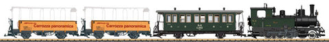 LGB 29271 Rhaetian 125th Anniversary Train-Only Set - Standard DC