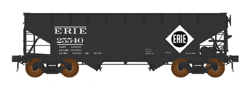 InterMountain 47173 AAR Alternate Standard Offset-Side 2-Bay Open Hopper - Ready to Run