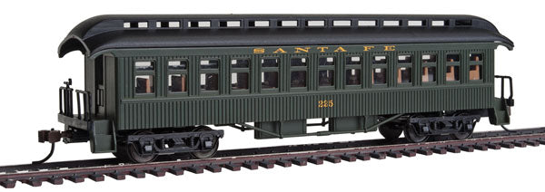 Con-Cor 15618 1880s Wood Open-Platform Coach - Ready to Run