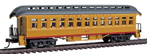 Con-Cor 15613 1880s Wood Open-Platform Coach - Ready to Run