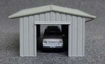 Armco Drive-Through Shed (Tractor Shed)