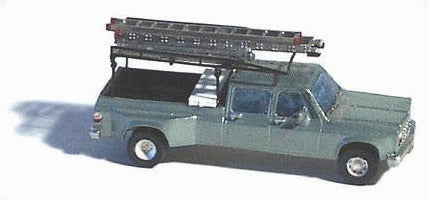 GHQ 51008 N American Trucks Crew-Cab 1-Ton Pickup w/Accessories