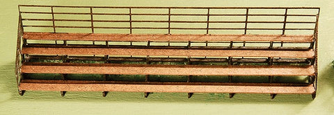 GCLaser 0243 N Scale Bleachers Kit (2)