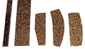"Itty Bitty Lines 1005 Z Cork Roadbed Single Track 18"" (Pack of 5)"