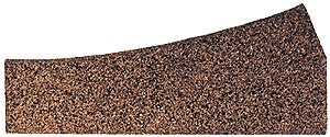 Itty Bitty Lines 1601 O Cork Roadbed Left Hand Small Radius Turnout Switch Pad