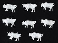 The N Scale Architect MAS001 Beef Cows pkg(8)