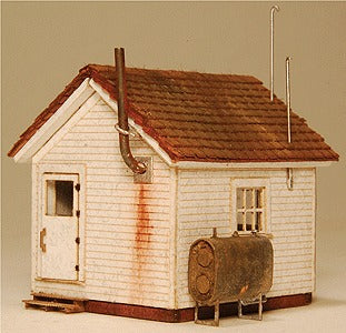 GCLaser 292-901 N Scale West End Shack Kit - 3/16 x 1-5/16 x 1-1/2 .5 x 3.3 x 3.8cm