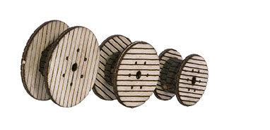 Noch 14202 HO Wood Cable Reels Kit (3)