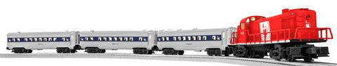 Lionel 6-81263 CNJ LionChief RS-3 Diesel Passenger Train Set - Remote Controlled