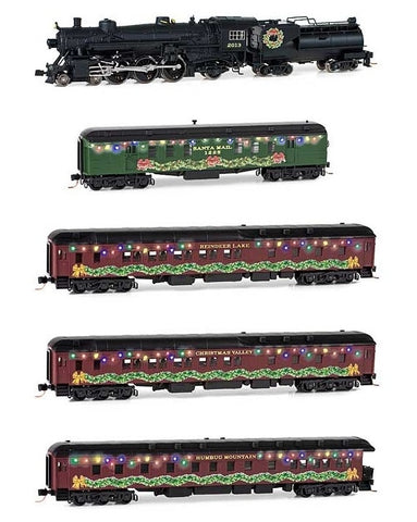 MicroTrains 489-99321200 Home for the Holiday Set