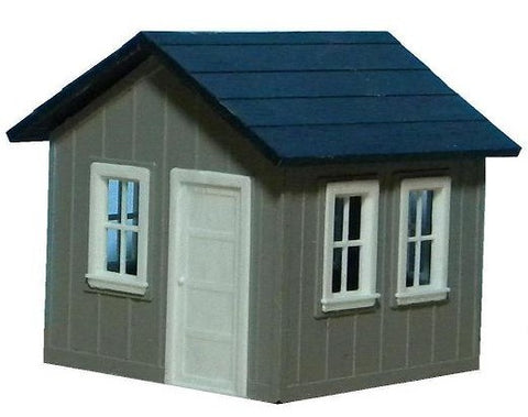 AM Models 127 HO Small Yard Office Kit