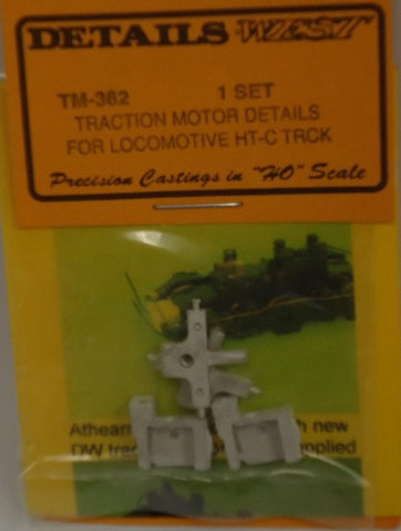 Details West 362 HO Traction Motor Details For Locomotive HT-C Trucks