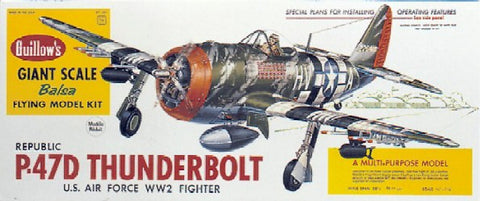 Guillows 1001 1:16 Republic P-47D Thunderbolt