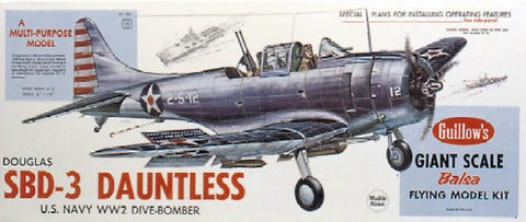 Guillows 1003 1:16 Douglas SBD-3 Dauntless