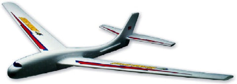 "Guillows 2000FE6 Flying Eagle 48"" Foam Glider Display"