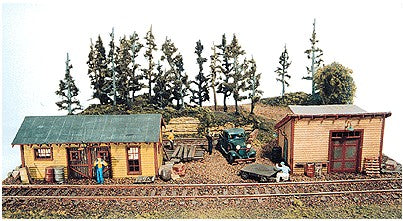 JL Innovative Design 231 HO Trackside Jamboree Storage & Work Shed Wooden Kit