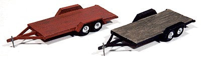 JL Innovative Design 923 HO Wood Tandem Trailer