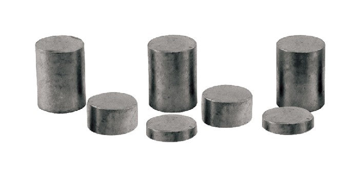 PineCar P3915 3oz Tungsten Incremental Weights Cylinder (Pack of 9)