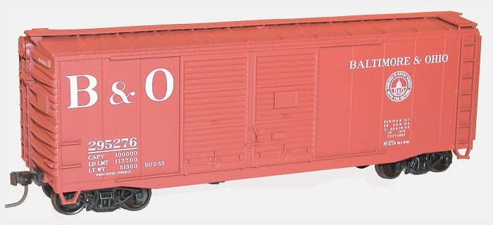 Accurail 36111 HO KIT 40' AAR Double Door Box, B&O