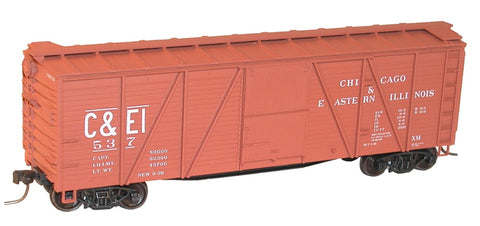 Accurail 7207 40' SS Wood Box C&EI