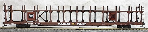 Accurail 9219 HO Burlington 89' Bi-Level Open Auto Rack