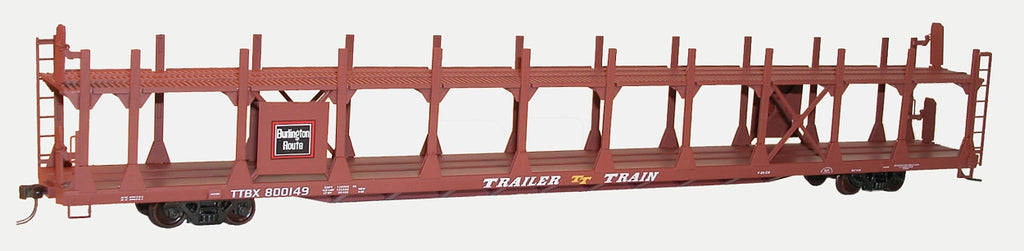 Accurail 92191 HO KIT 89' Bi-Level Auto Rack, CB&Q